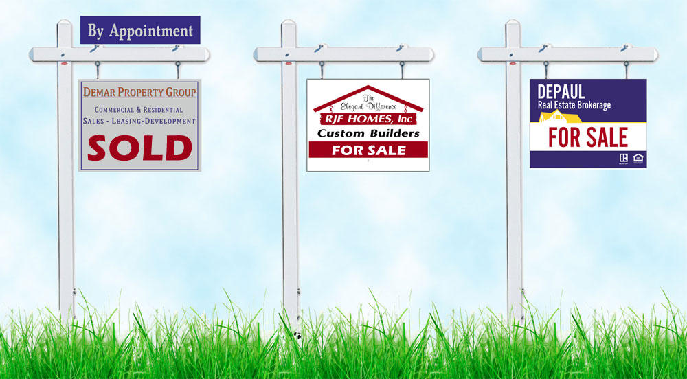 Coroplast Signs and Real Estate Yard Signs Houston