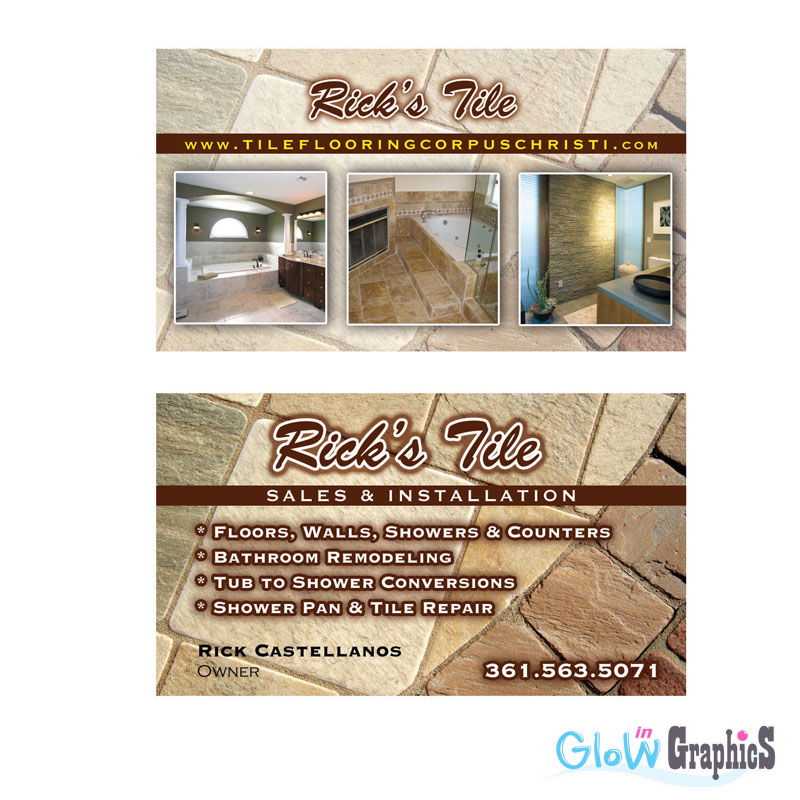 Tile Contractor Business Card At Zazzle Ca to pin